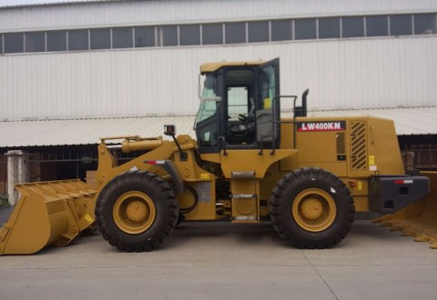 4 ton Front End Loader XCMG wheeel loader LW400KN for sale