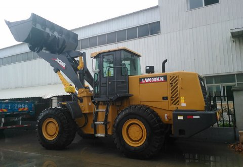 6T Brand New XCMG wheel loader LW600KN
