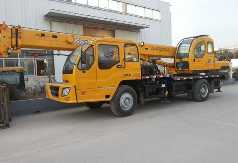 XCMG 12T Truck Crane QY12B.5 For Hot Sale