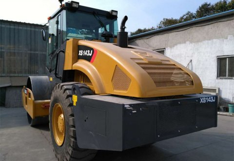 XS143J XCMG Single drum road roller for sale