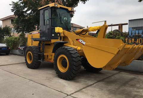 XCMG front end loader 3ton wheel loader LW300FN
