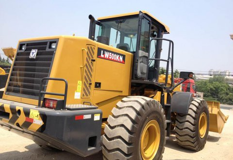 XCMG 5 ton wheel loader LW500KN hot sale