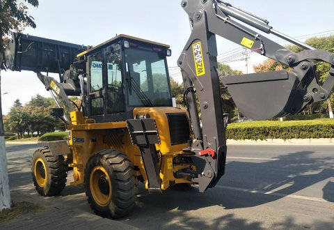XCMG backhoe loader WZ30-25