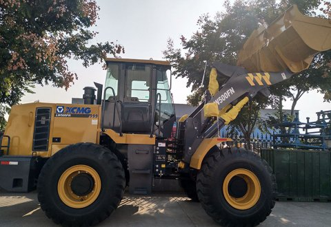 2018 Front end loader 5T XCMG wheel loader LW500FN