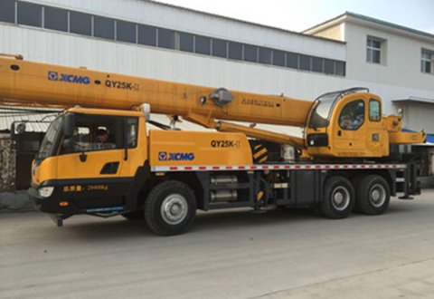 2019 brand new 25Ton XCMG Truck Crane for sale