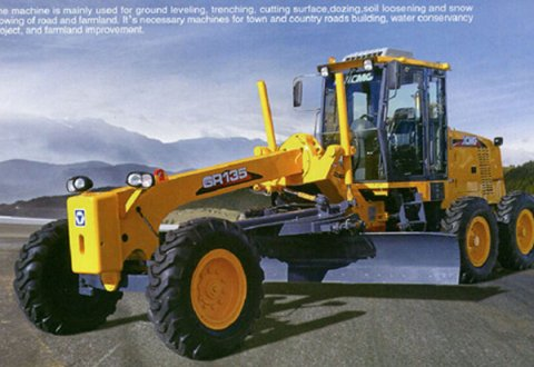 GR135 Construction machinery XCMG motor grader for sale