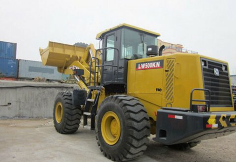 2019 Hot sale 5 ton load capcacity XCMG wheel loader LW500KN