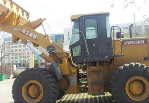 5 ton Front end loader XCMG wheel loader LW500KN for sale