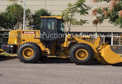 new type XCMG ZL50GN wheel loader for sale